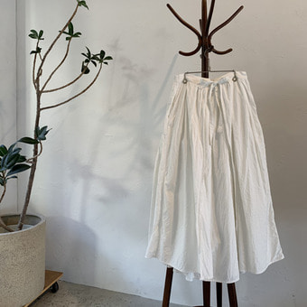 Gauze khadi cotton wraped skirt